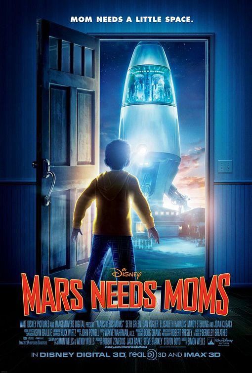 постер Тайна Красной планеты,Mars Needs Moms