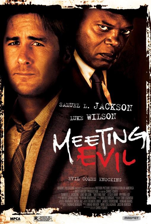 постер Встреча со злом,Meeting Evil
