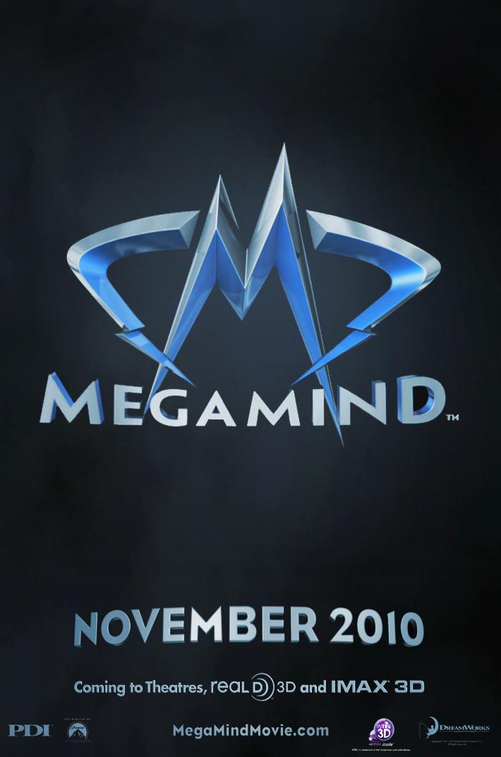 постер Мега мозг, Megamind