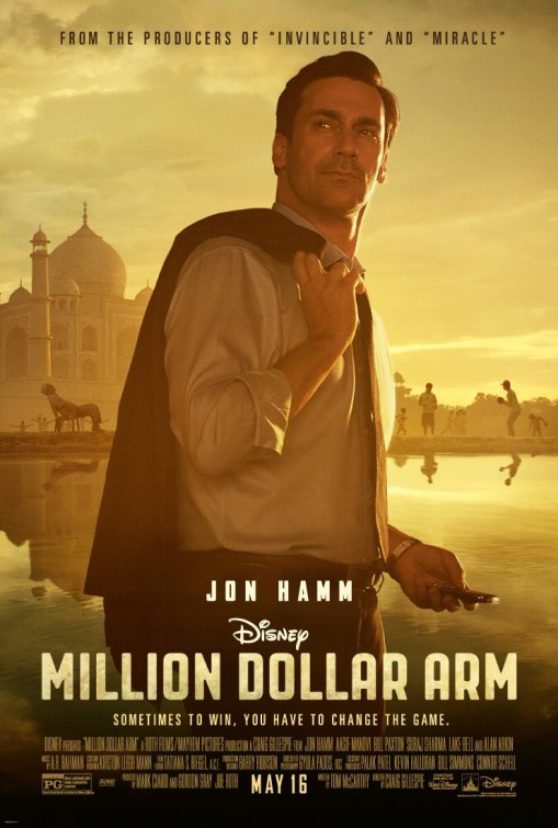постер Рука на миллион,Million Dollar Arm