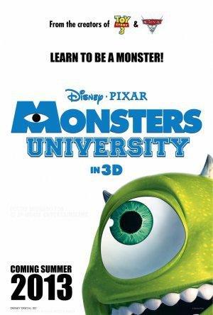постер Университет монстров,Monsters University