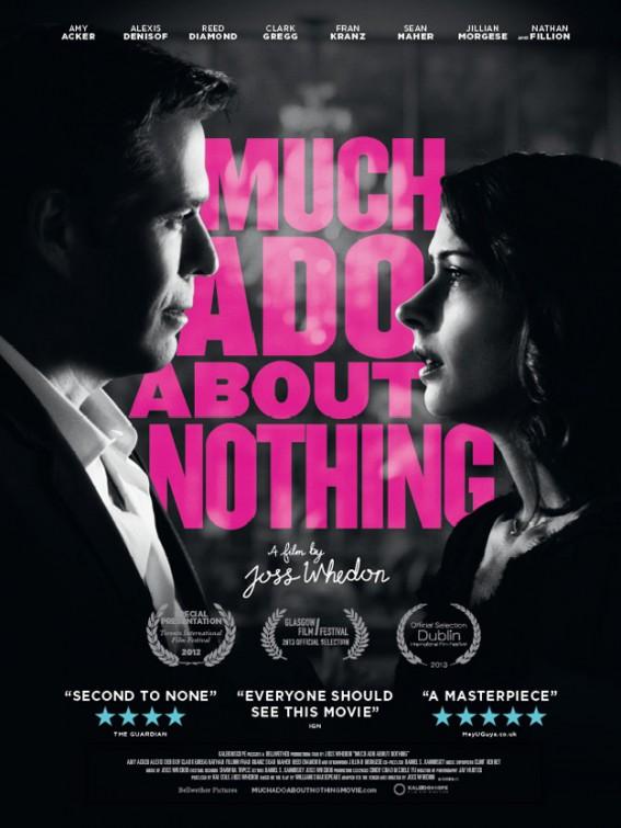 постер Много шума из ничего,Much Ado About Nothing