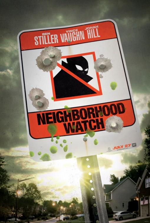 постер Соседский дозор,Neighborhood Watch