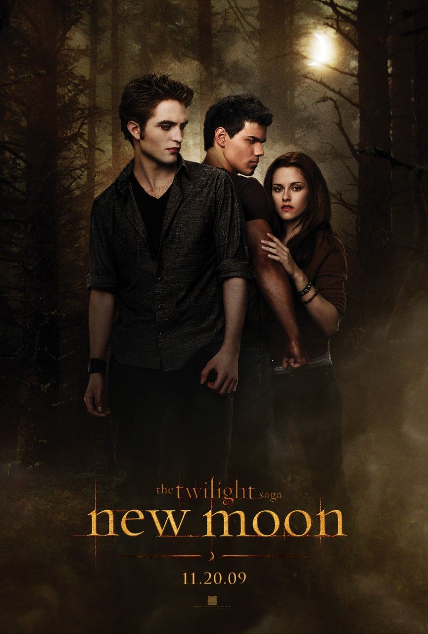 постер The Twilight Saga New Moon, Новолуние