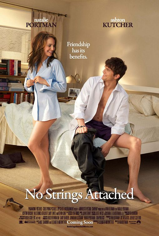 постер Больше, чем секс,No Strings Attached