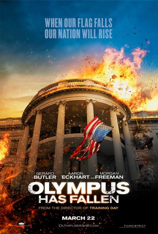 постер Падение Олимпа,Olympus Has Fallen
