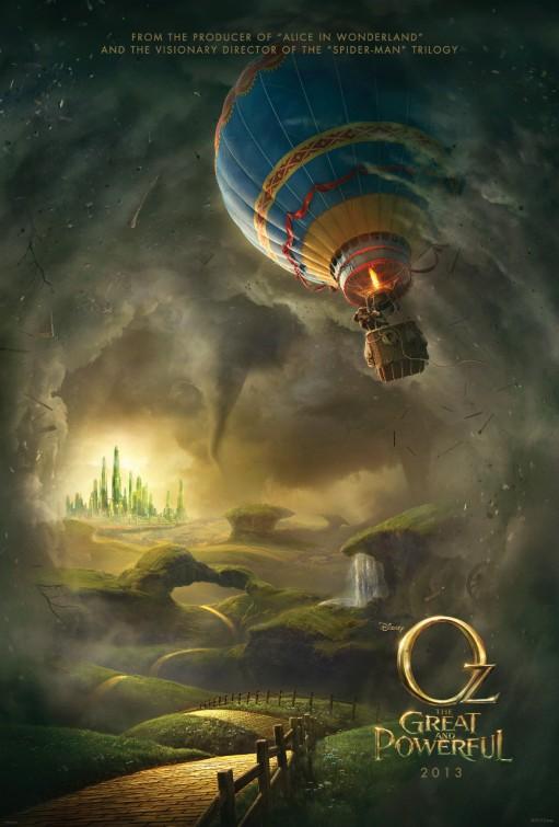 постер Оз: Великий и Ужасный,Oz: The Great and Powerful