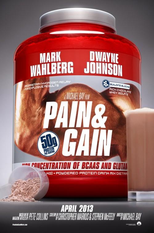 постер Кровью и потом,Pain & Gain