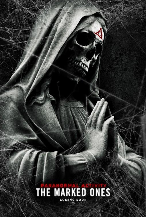 постер Паранормальное явление: Метка Дьявола,Paranormal Activity: The Marked Ones