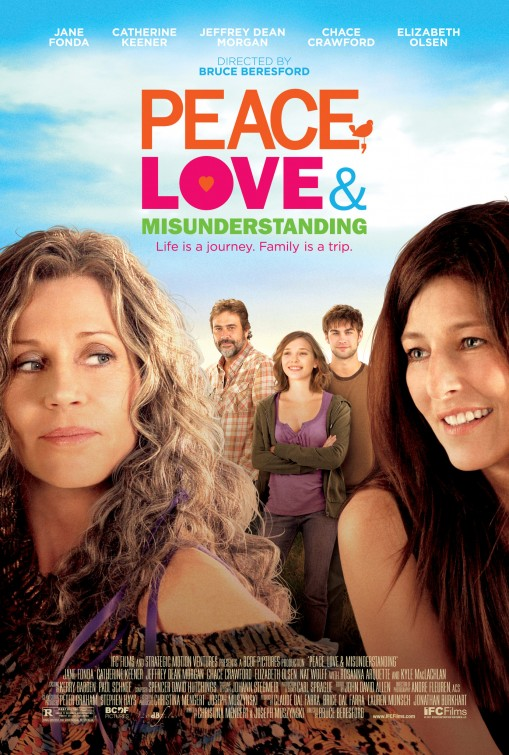 постер Мир, любовь и недопонимание,Peace, Love & Misunderstanding