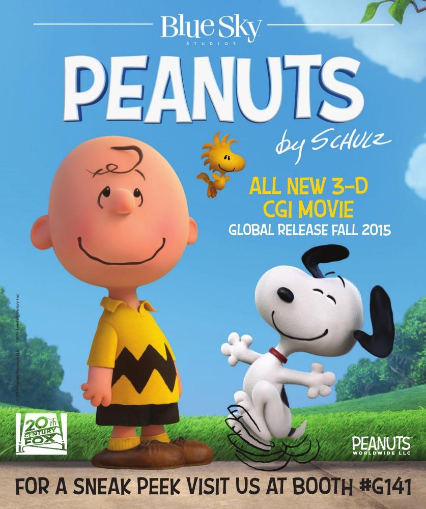 постер Малышня пузатая: Снупи и Чарли Браун в кино,Peanuts