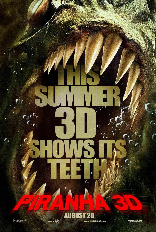постер Пираньи 3D, Piranha 3-D