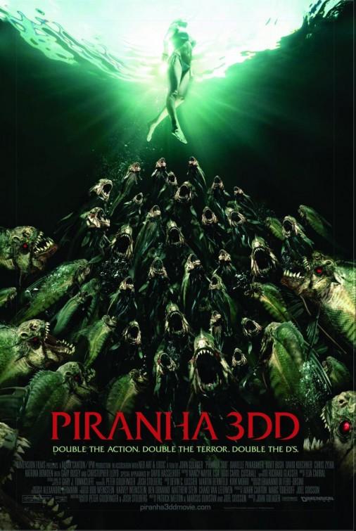 постер Пираньи 3DD,Piranha 3DD