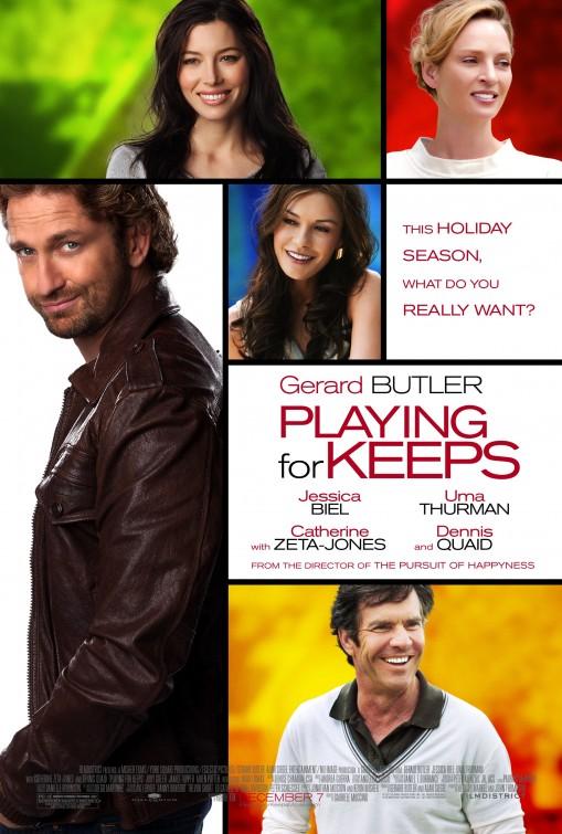 постер Мужчина нарасхват,Playing for Keeps