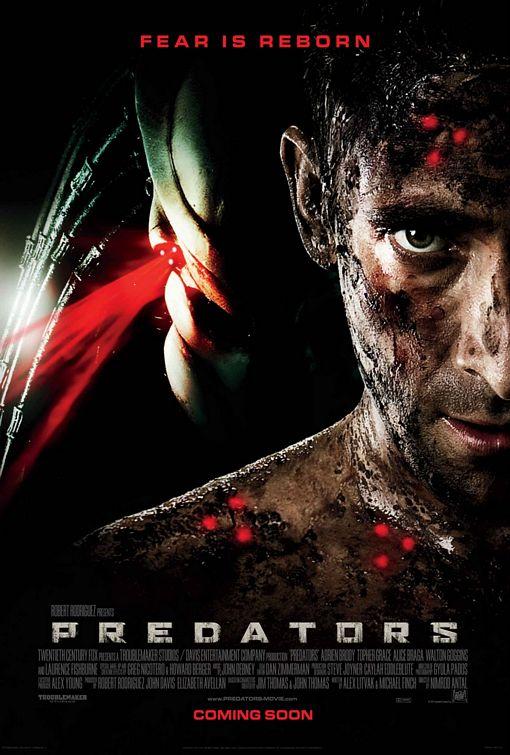постер Хищники,Predators