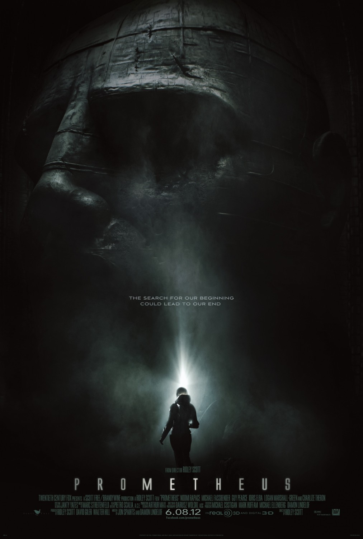 постер Прометей,Prometheus