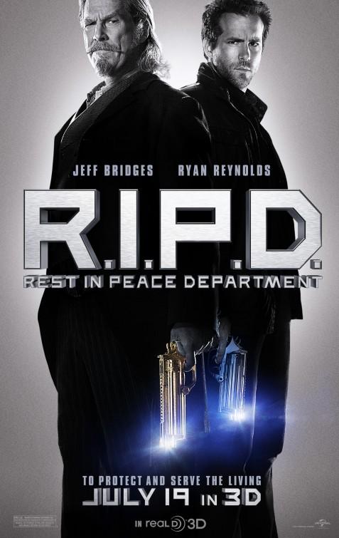 постер Призрачный патруль,R.I.P.D.