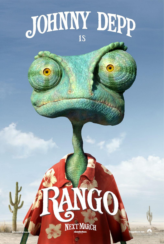 постер Рэнго, Rango
