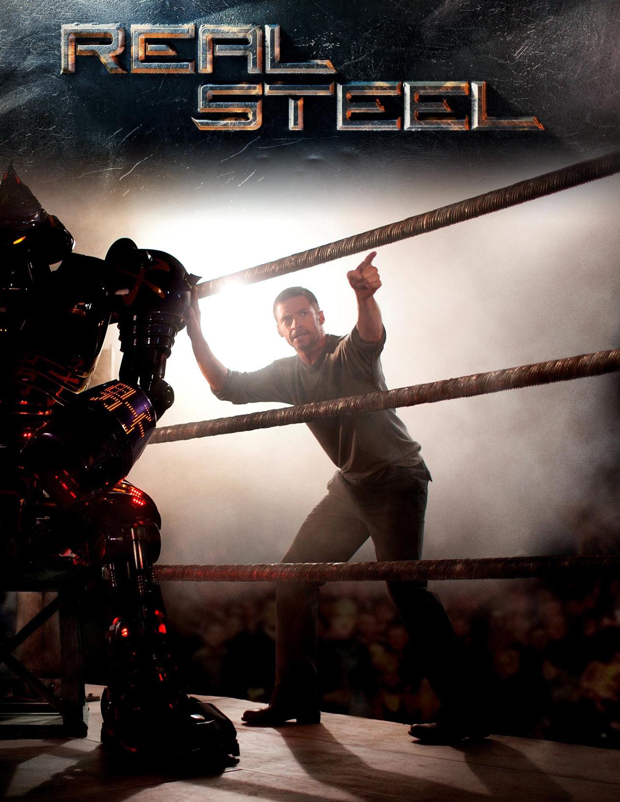постер Настоящая сталь,Real Steel