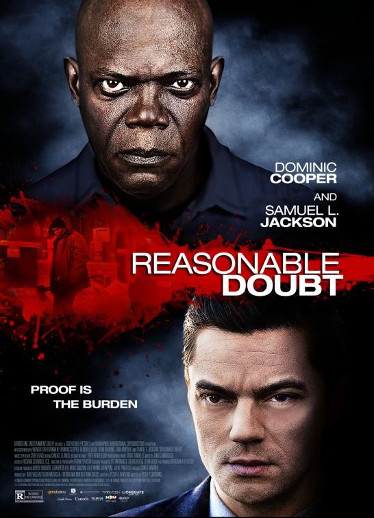 постер Разумное сомнение,Reasonable Doubt