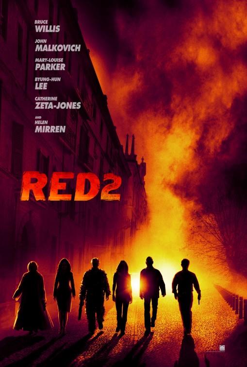 постер РЭД 2,RED 2