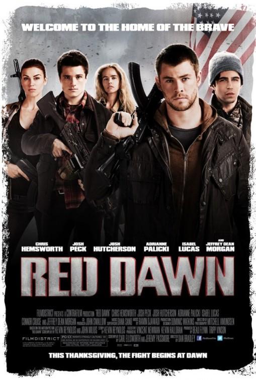 постер Неуловимые,Red Dawn