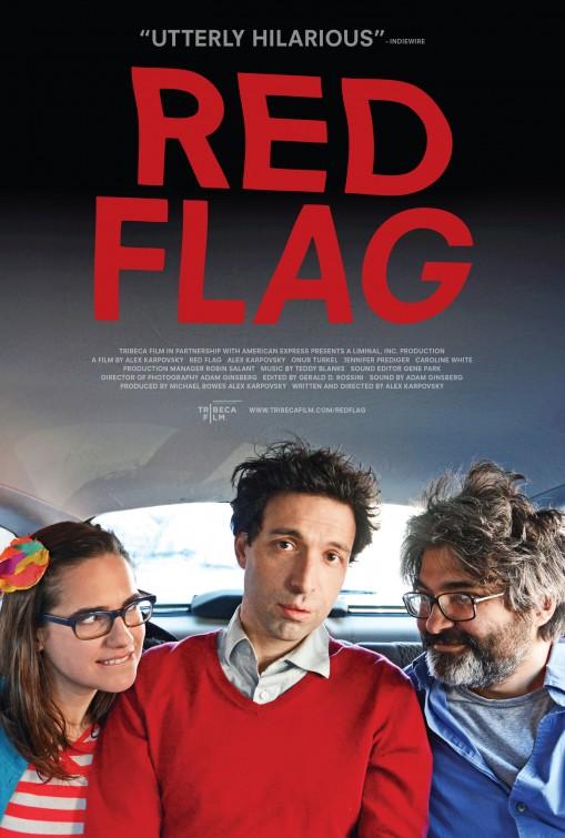 постер Красный флаг,Red Flag