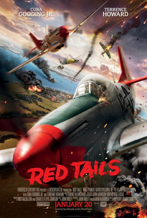 постер Красные xвосты,Red Tails