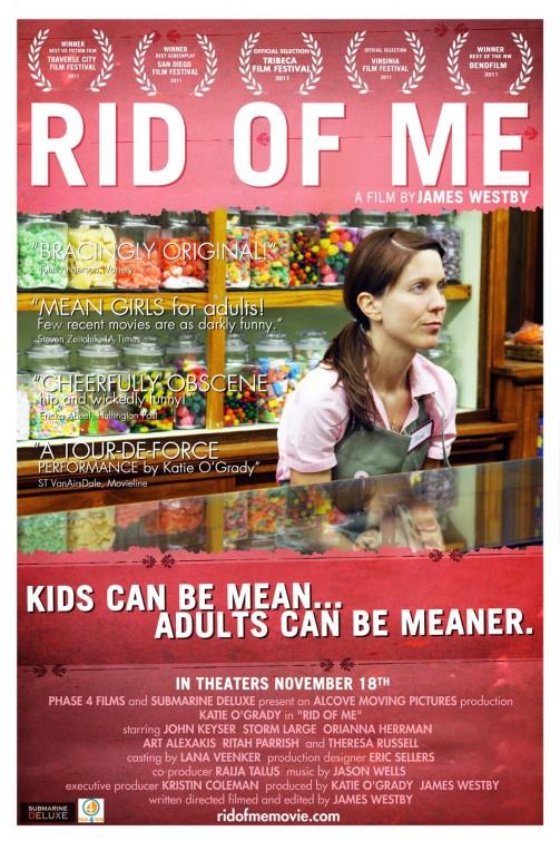 постер Избавься от меня,Rid of Me