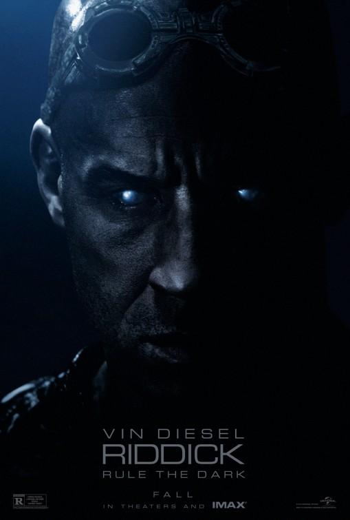 постер Риддик 3D,Riddick
