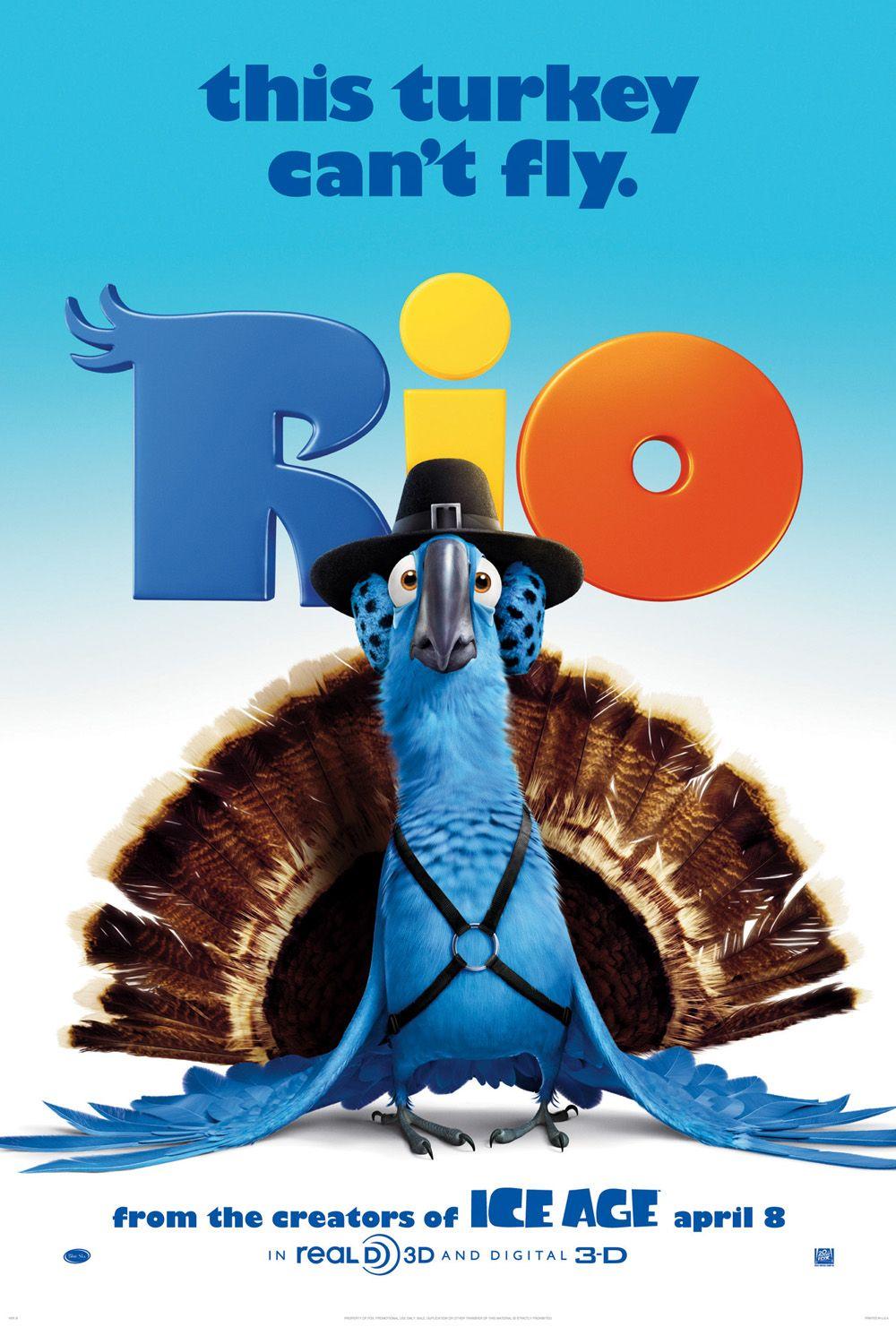 постер Рио,Rio
