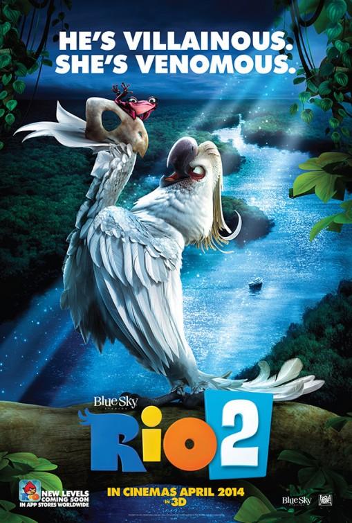 постер Рио 2,Rio 2