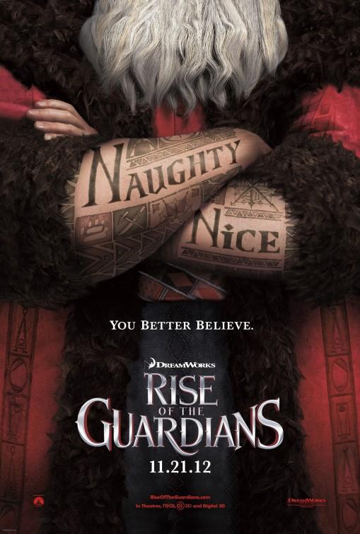 постер Хранители снов,Rise of the Guardians