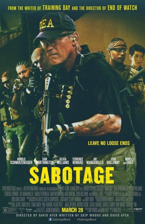 постер Саботаж,Sabotage