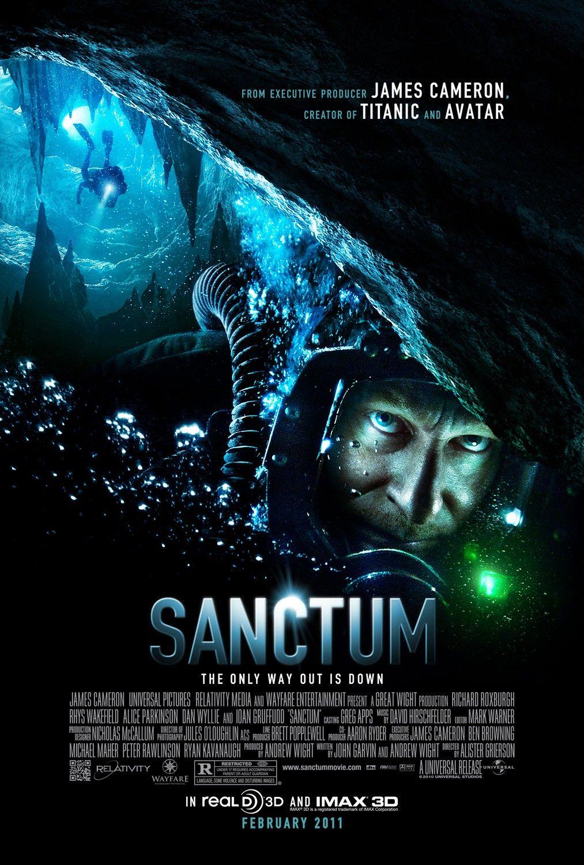 постер Санктум 3D,Sanctum