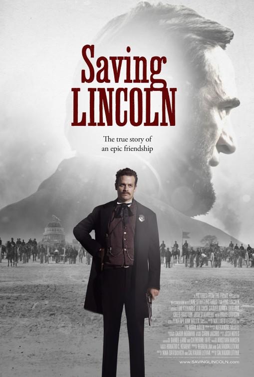 постер Спасение Линкольна,Saving Lincoln