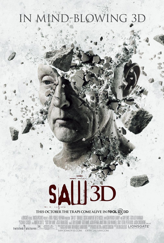 постер Пила 7 3D, Saw 3D