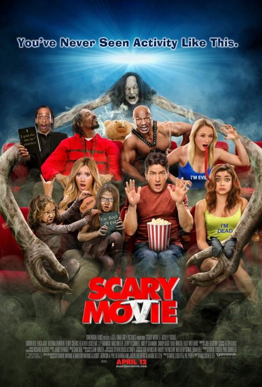 постер Очень страшное кино 5,Scary Movie 5