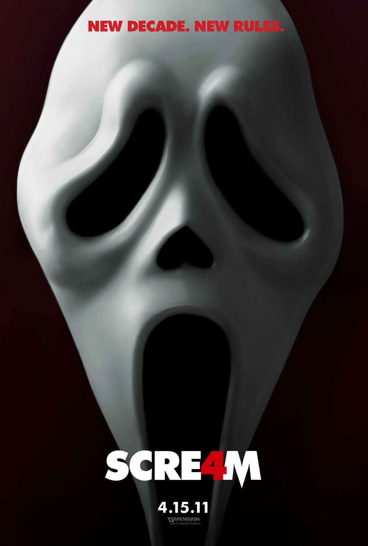 постер Крик 4,Scream 4