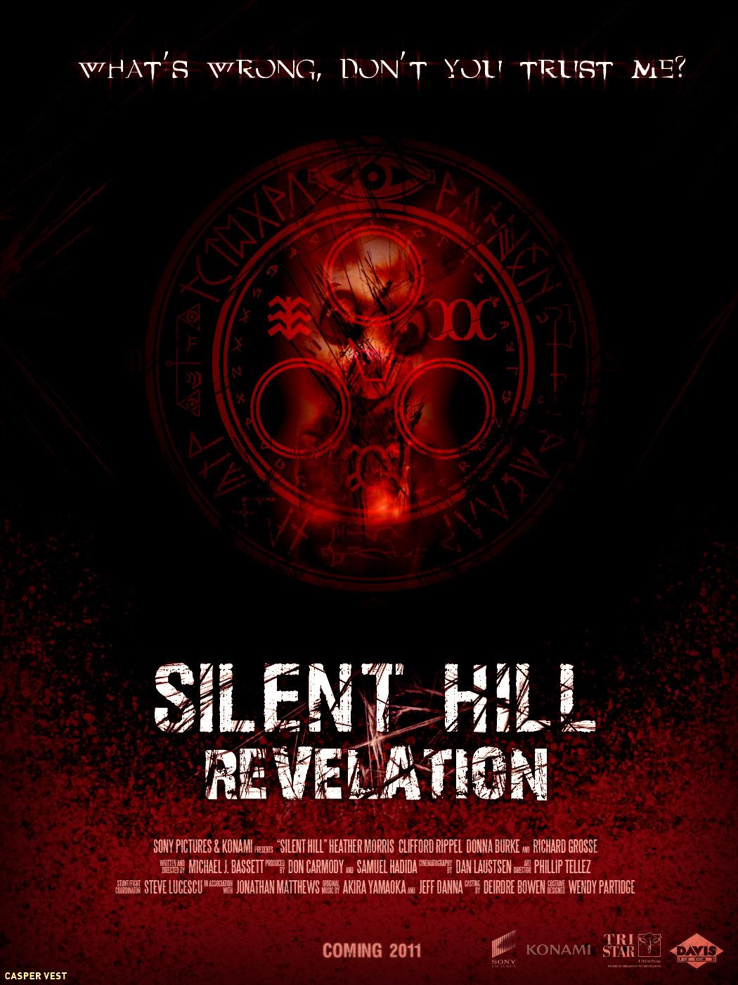 постер Сайлент Хилл 2,Silent Hill: Revelation 3D