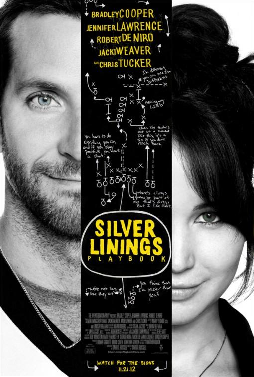 постер Мой парень – псих,Silver Linings Playbook