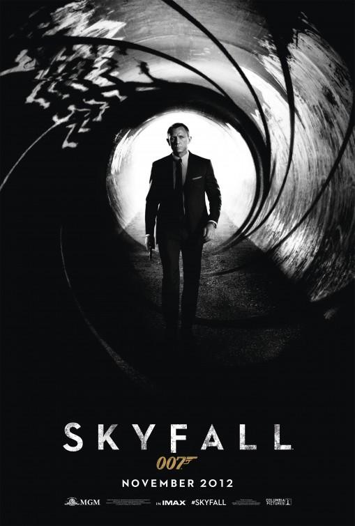 постер 007: Координаты «Скайфолл»,Skyfall