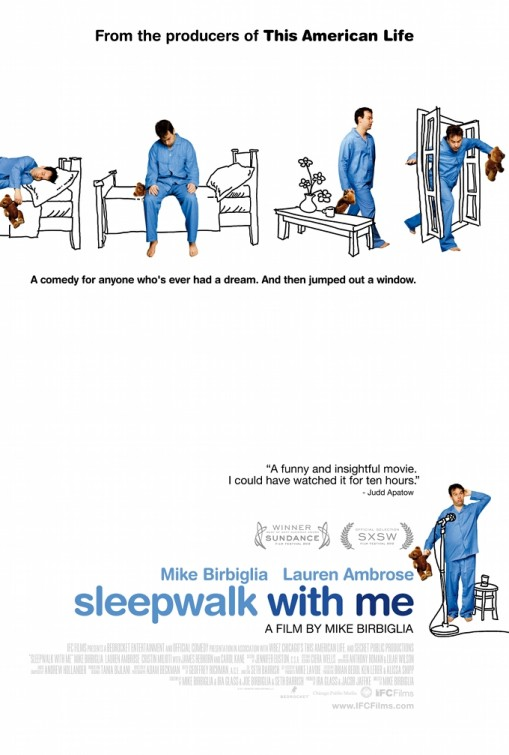 постер Лунатики,Sleepwalk With Me