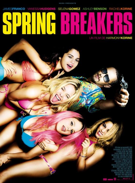 постер Отвязные каникулы,Spring Breakers
