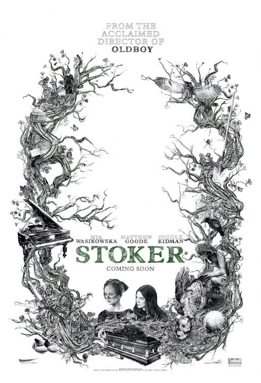 постер Порочные игры,Stoker