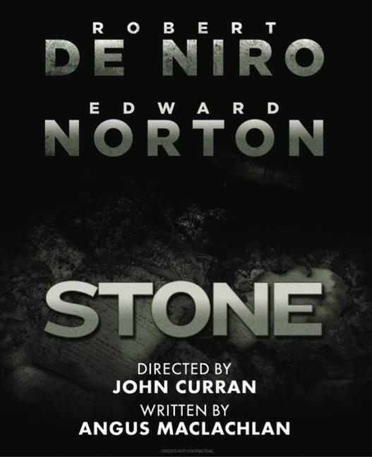 постер Стоун, Stone