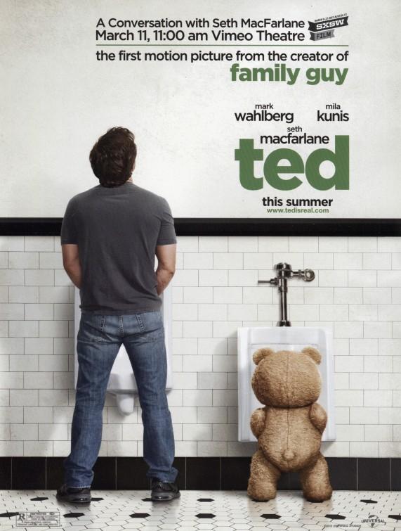 постер Третий лишний,Ted