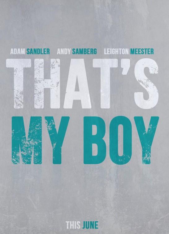 постер Это мой мальчик,That's My Boy