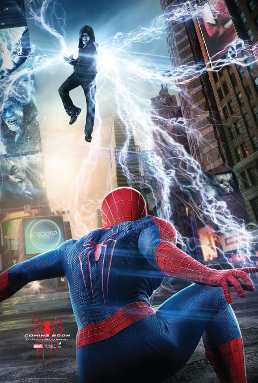 постер Новый Человек-паук 2,The Amazing Spider-Man 2