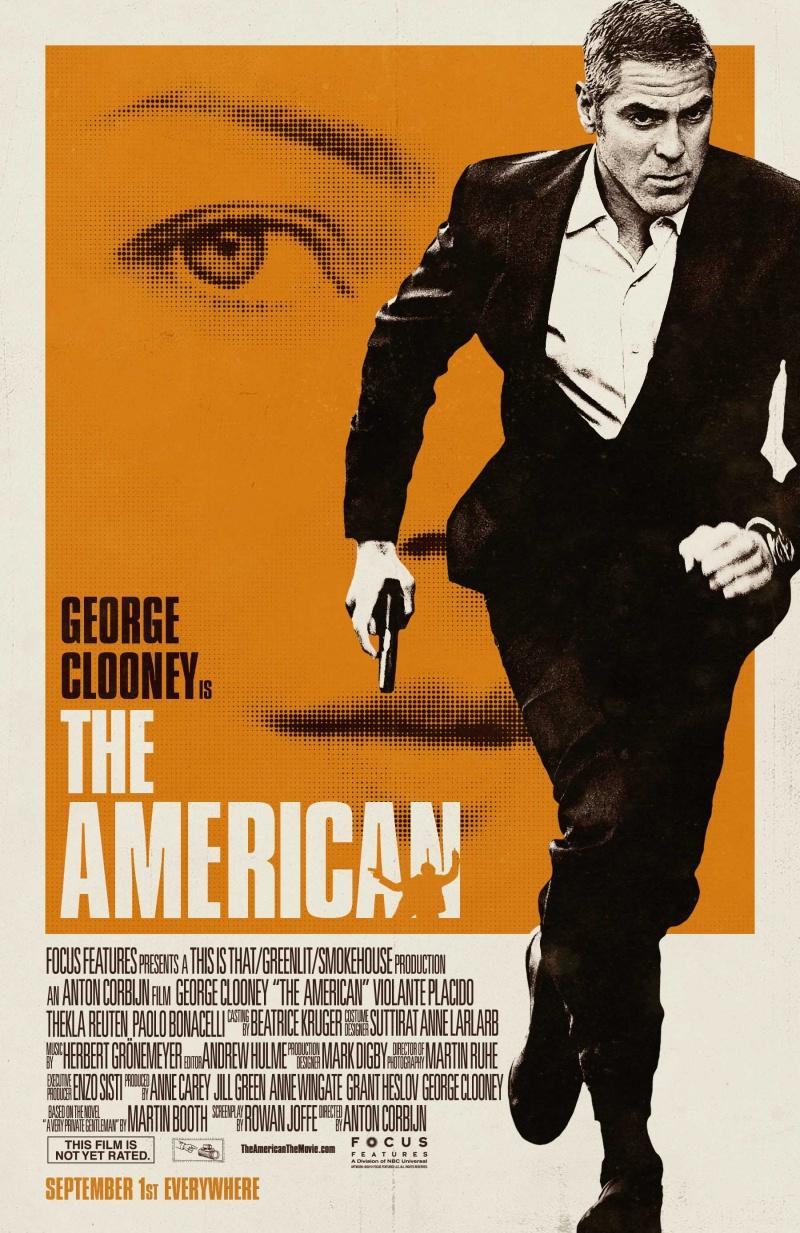 постер Американец, The American